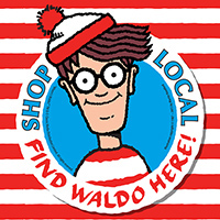 Shop Local: Find Waldo Here!